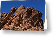 Elephant Rock Valley Of Fire State Park Nevada Greeting Card