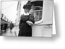 Ella Flagg Young (1845-1918) Greeting Card