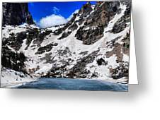 Emerald Lake In Rocky Mountain National Park Greeting Card