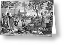 Emigrants Arkansas, 1874 Greeting Card