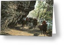 Eminence Trail Ride Greeting Card