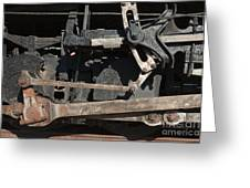 Engine 491 In The Colorado Railroad Museum Greeting Card