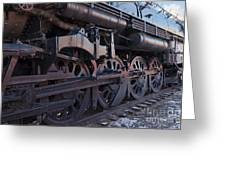 Engine 5629 In The Colorado Railroad Museum Greeting Card