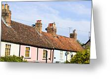 English Cottages Greeting Card