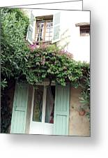 Entrances Of Provence Greeting Card