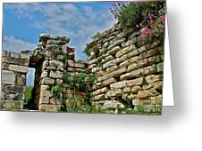 Entry To Saint John's Basilica Grounds In Selcuk-turkey Greeting Card