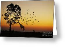 Evening Meal Greeting Card