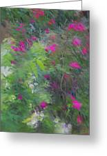 Expression Of Impressionism Greeting Card
