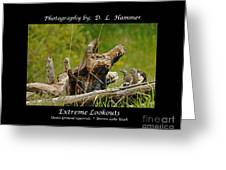 Extreme Lookouts Greeting Card