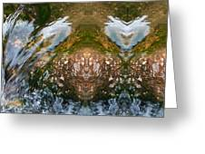 Faces In Water II Greeting Card