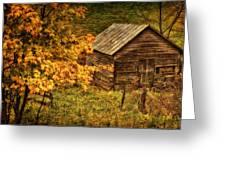 Fall At The Farm Greeting Card