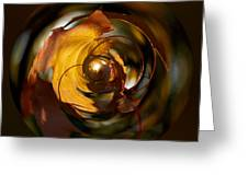 Fall Colorball Greeting Card