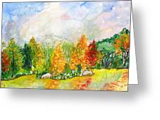 Fall2014-9 Greeting Card