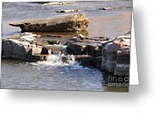 Falls Park Waterfall Greeting Card