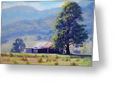 Farm Shed Greeting Card