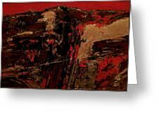 Feng Shui - Gold Mountain Greeting Card