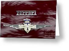 Ferrari 212 Greeting Card