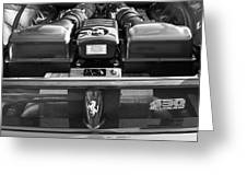 Ferrari 430 Scuderia Engine Greeting Card