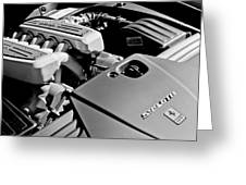 Ferrari 599 Gtb Engine  Greeting Card