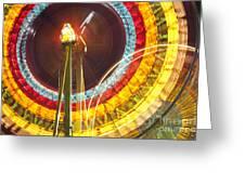 Ferris Wheel Evergreen State Fair Greeting Card