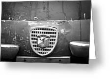 Fiat Grille Emblem Greeting Card
