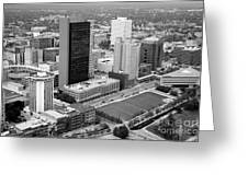 Fiberglass Tower Toledo Ohio Greeting Card