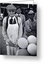 Film Homage Balloon Vender Extra The Great White Hope 1970 Globe Arizona 1969-2008 Greeting Card