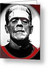 Film Homage Boris Karloff The Bride Of Frankenstein 1935 Publicity Photo 1935-2012 Greeting Card