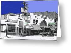 Film Homage Director Allan Dwan Soldiers Of Fortune 1919 Lyric Theater Tucson Arizona 1919-2008 Greeting Card