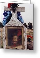 Film Homage John Wayne The Greatest Story Ever Told 1965 Cemetery Tubac Arizona 2000 Greeting Card