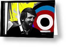Film Homage The Archers Collage Tom Harmon Aberdeen South Dakota 1965-2008 Greeting Card