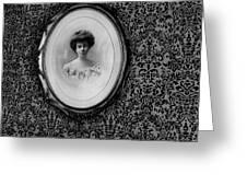 Film Noir Ida Lupino Robert Ryan Beware My Lovely 1952 Lithograph Connor Hotel Jerome Arizona 1971 Greeting Card