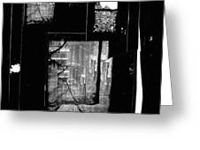Film Noir Signe Hasso Lloyd Nolan House On 92nd Street 1945 Collage Antlers Hotel Victor Co 1971-'10 Greeting Card