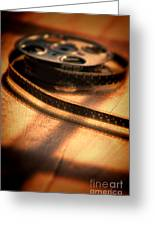 Film Reel Greeting Card
