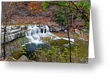 Finger Lakes Waterfall Greeting Card