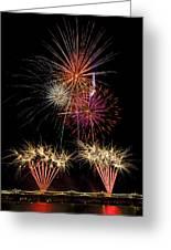 Fireworks  Greeting Card by Saija  Lehtonen