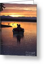 Fishing Boats Greeting Card