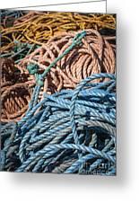 Fishing Ropes Greeting Card