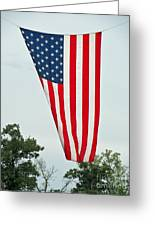 Flag Greeting Card