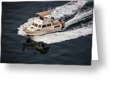 Fleming Yacht's Corvette Greeting Card