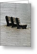 Flooded Seat  Greeting Card