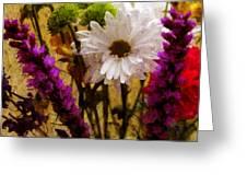 Floral Art IIi Greeting Card