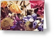 Floral Art V Greeting Card