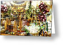 Florence Market Greeting Card