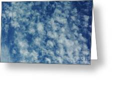 Florida Clouds Above Greeting Card