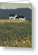Flower Field Series Greeting Card