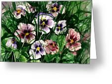 Flower Study I Greeting Card