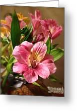 Flowers In Bloom Greeting Card