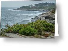 Foggy Coast Greeting Card