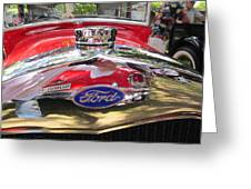 Ford Classic Car  Greeting Card